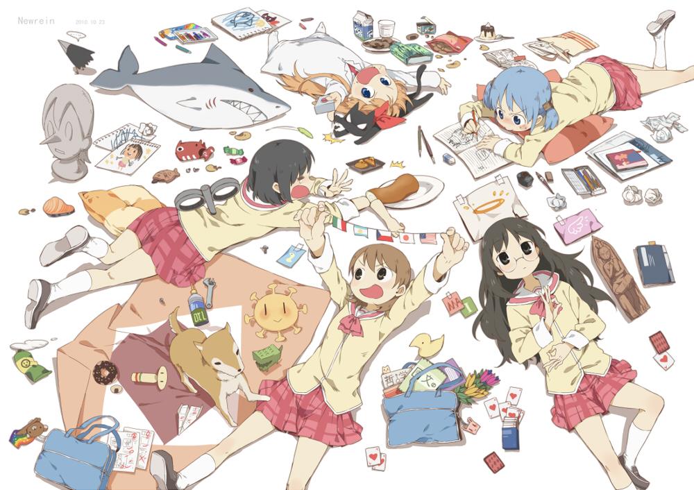'Nichijou' Complete Anime Series Review – Aedan Juvet